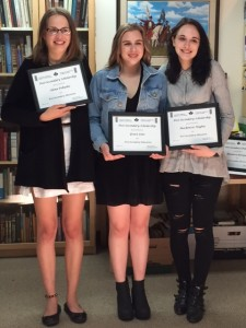 Scholarship winners 2016