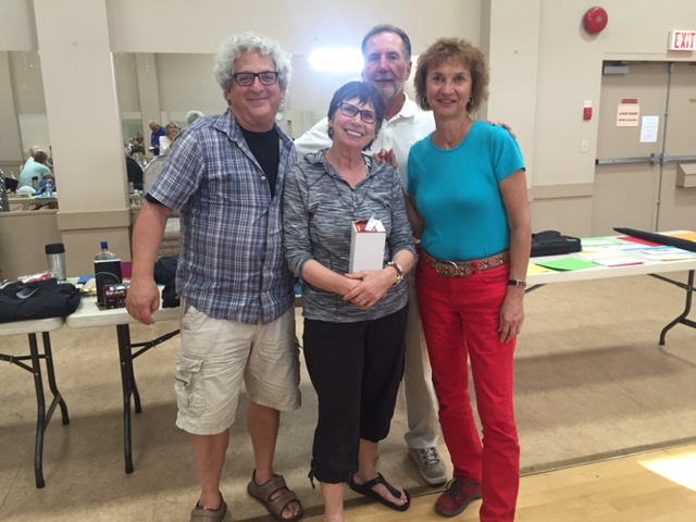 Second place team: Sid Axelrod, Theresa Herchak, Bill Hummeny, and Barb Kaminsky