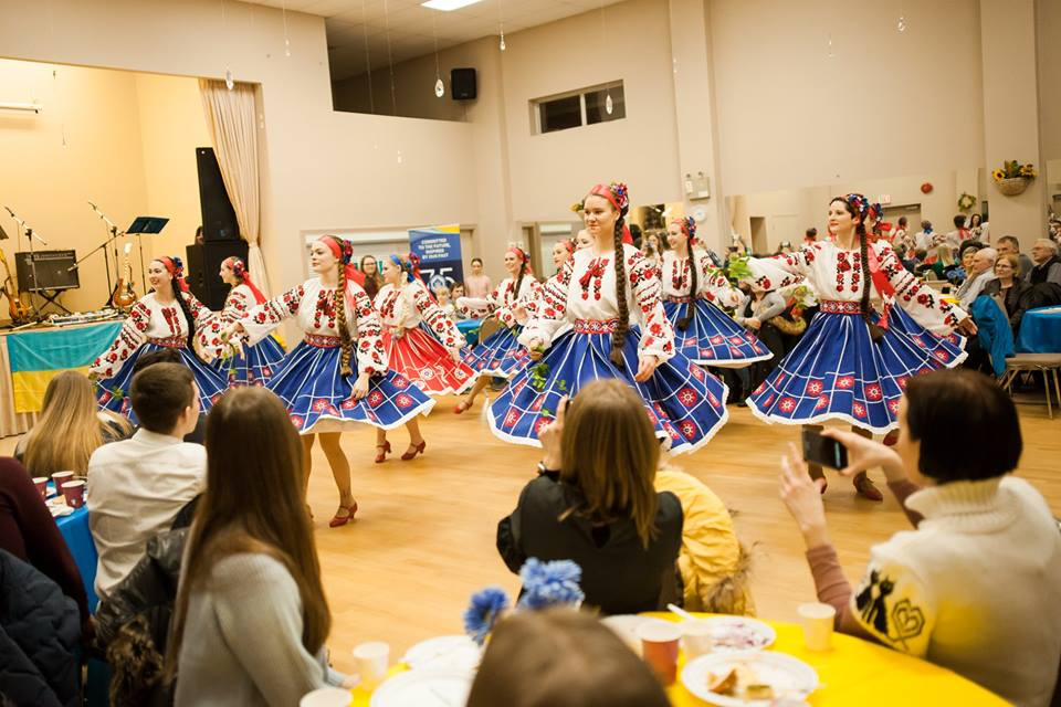Ukrainian dance night